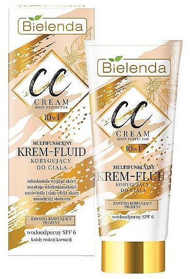 Bielenda Magic CC 10in1 Body Correction Cream Waterproof Tanning Effect SPF6 - CC crème-fluide pour corps