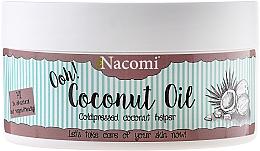 Parfums et Produits cosmétiques Huile de noix de coco pressée à froid - Nacomi Coconut Oil 100% Natural Unrefined