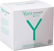 Parfums et Produits cosmétiques Protège-slips, 24pcs - Yoni Organic Cotton Panty Liners
