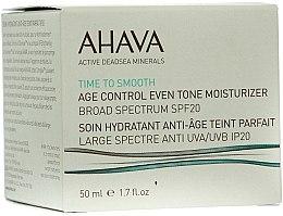 Parfums et Produits cosmétiques Soin de jour à l'extrait de calendula, SPF 20 - Ahava Age Control Even Tone Moisturizer Broad