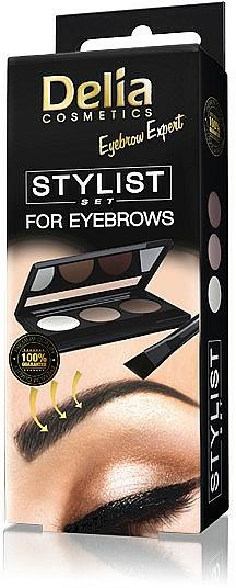 Palette sourcils - Delia Cosmetics Eyebrow Expert Stylist Set