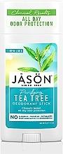 Parfums et Produits cosmétiques Déodorant stick naturel à l'huile d'arbre à thé - Jason Natural Cosmetics Pure Natural Deodorant Stick Tea Tree