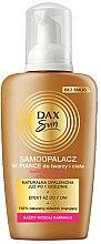 Parfums et Produits cosmétiques Mousse auto-bronzante pour visage et corps - Dax Sun Self Tanning Foam