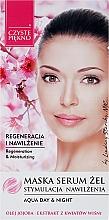 Parfums et Produits cosmétiques Gel-masque sérum à l'extrait de fleur de cerisier pour visage - Czyste Piekno Face Mask Serum Gel
