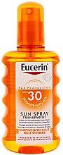 Parfums et Produits cosmétiques Spray solaire pour les peaux à tendance acnéique du corps - Eucerin Sun Spray Transparent SPF 30