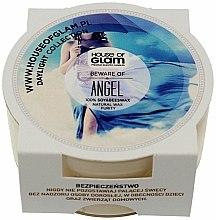 Parfums et Produits cosmétiques Bougie parfumée de soja et cire d'abeille - House of Glam Beware of Angel Candle (mini)