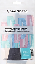 Parfums et Produits cosmétiques Kit abrasifs de rechange pour lime à ongles croissant, DFE-42-100 grain - Staleks Pro (50 pcs)