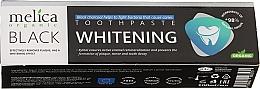 Parfums et Produits cosmétiques Dentifrice blanchissant bio au charbon actif - Melica Organic Toothpaste Whitening Black