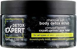 Parfums et Produits cosmétiques Gommage au sel et charbon actif pour corps - Detox Expert Charcoal Salt Body Detox Scrub