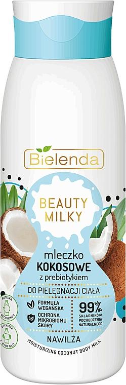 Lait à la noix de coco pour corps - Bielenda Beauty Milky Moisturizing Coconut Body Milk