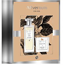 Parfums et Produits cosmétiques Allvernum Coffee & Amber - Set (eau de parfum/50ml + bougie parfumée/100g)