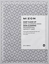 Parfums et Produits cosmétiques Masque tissu purifiant au moringa pour visage - Mizon Dust Clean Up Deep Cleansing Mask