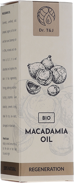 Huile de macadamia 100% naturelle - Dr. T&J Bio Oil — Photo N2