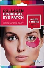 Parfums et Produits cosmétiques Patchs hydrogel au vin rouge pour yeux - Beauty Face Collagen Hydrogel Eye Mask
