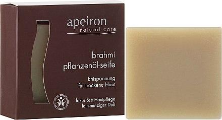 Savon naturel à l'huile de brahmi - Apeiron Brahmi Plant Oil Soap — Photo N1