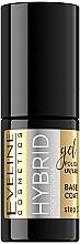 Parfums et Produits cosmétiques Base coat pour vernis semi-permanent - Eveline Cosmetics Hybrid Professional Base Coat