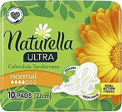 Parfums et Produits cosmétiques Serviettes hygiéniques, 10 pièces - Naturella Ultra Calendula Normal