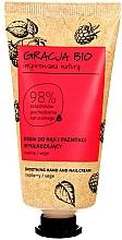 Parfums et Produits cosmétiques Crème à l'extrait de framboise pour mains - Gracja Bio Raspberry Hand And Nail Cream