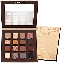 Parfums et Produits cosmétiques Palette de fards à paupières - Nabla Side By Side Nude Palette