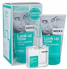 Parfums et Produits cosmétiques Mexx Look Up Now for Him - Set (eau de toilette/50ml + gel douche/150ml)