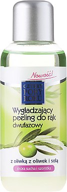 Peeling bi-phasé à l'huile d'olive pour les mains - Pharma CF Cztery Pory Roku Olive Hand Two-Phase Peeling