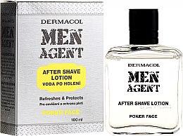 Parfums et Produits cosmétiques Lotion après-rasage - Dermacol Men Agent Poker Face After Shave Lotion