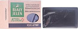 Parfums et Produits cosmétiques Savon dermatologique au charbon actif - Bialy Jelen Apteka Alergika Soap