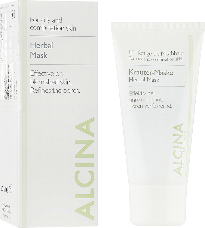 Masque à l'huile de lavande pour visage - Alcina Herbal Mask — Photo N4