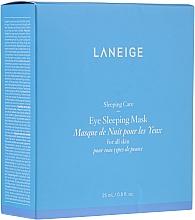 Parfums et Produits cosmétiques Masque de nuit à la caféine pour contour des yeux - Laneige Sleeping Care Sleeping Eye Mask