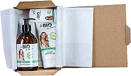Parfums et Produits cosmétiques BeBio Spirulina & Chlorella Algae - Set (gel douche/400ml + lotion pour le corps/200ml + déodorant roll-on/50ml)
