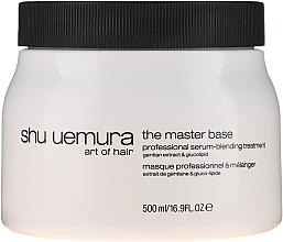 Parfums et Produits cosmétiques Masque professionnel à melanger l'extrait de gentiane et gluco-lipide pour cheveux - Shu Uemura Art Of Hair Master Serum Base