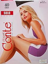 Parfums et Produits cosmétiques Collant pour femme, Solo, 40 Den, mocca - Conte