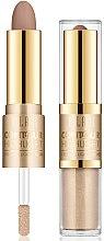 Parfums et Produits cosmétiques Stick enlumineur et contour pour visage - Milani Contour & Highlight Cream & Liquid Duo