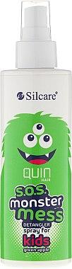 Spray démêlant pour enfant - Silcare Quin S.O.S. Monster Mess Kids Hair Spray