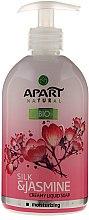 Parfums et Produits cosmétiques Savon liquide crémeux au jasmin et soie - Apart Natural Silk & Jasmine Soap