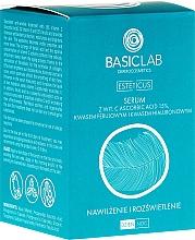 Parfums et Produits cosmétiques Sérum anti-rides hydratant et éclaircissant pour visage - BasicLab Dermocosmetics Esteticus