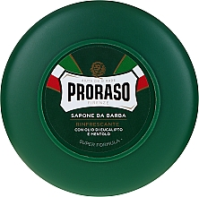 Parfums et Produits cosmétiques Savon à raser au menthol et eucalyptus - Proraso Green Shaving Soap