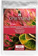 Parfums et Produits cosmétiques Masque tissu en soie naturelle à la cascarilla pour contour des yeux - Orientana Eye Silk Pad Cascarilla