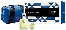 Parfums et Produits cosmétiques Calvin Klein Eternity For Men - Coffret cadeau (eau de toilette 100ml + eau de toilette 15ml + trousse de toilette)