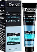 Parfums et Produits cosmétiques Crème dépilatoire hydratante pour homme - Bielenda Only For Man Active Formula Cream
