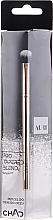 Parfums et Produits cosmétiques Pinceau estompeur fard à paupières, 206 - Auri Chad Pro Tapered Blend Brush