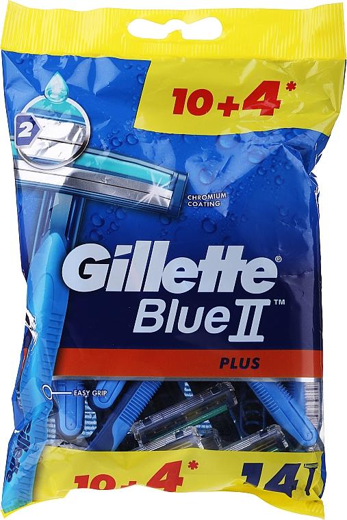 Rasoirs jetables, 14 pcs. - Gillette Blue II Plus