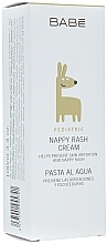 Parfums et Produits cosmétiques Crème de change au beurre de karité - Babe Laboratorios Nappy Rash Cream