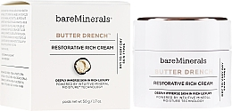 Parfums et Produits cosmétiques Crème au beurre de karité pour visage - Bare Escentuals Bare Minerals Butter Drench Restorative Rich Cream