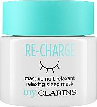 Parfums et Produits cosmétiques Masque de nuit relaxante pour visage - Clarins My Clarins Re-Charge Relaxing Sleep Mask