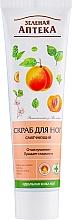 Parfums et Produits cosmétiques Gommage à l'huile de sapin et d'abricot pour pieds - Green Pharmacy