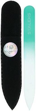 Lime à ongles en cristal F4-12-90, turquoise - Staleks (9cm) — Photo N1