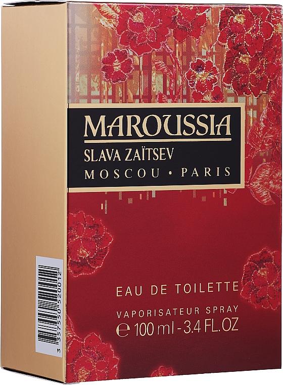 Slava Zaitsev Maroussia - Eau de Toilette — Photo N2