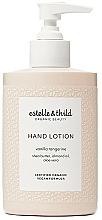 Parfums et Produits cosmétiques Lotion au beurre de karité pour mains, Vanille et Tangerine - Estelle & Thild Vanilla Tangerine Hand Lotion