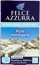 Parfums et Produits cosmétiques Recharge pour diffuseur de parfum électrique Pure montagne - Felce Azzurra Pure Montain